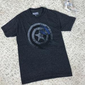 Men's S Marvel Captain America T Shirt